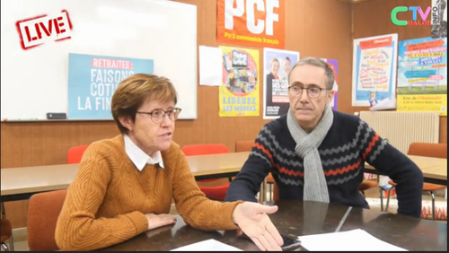 interview PCF ChalonTVinfo municipales Chalon